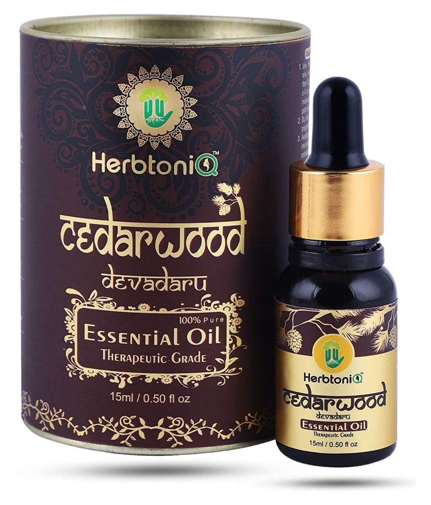 HerbtoniQ Cedarwood Essential Oil 15 mL