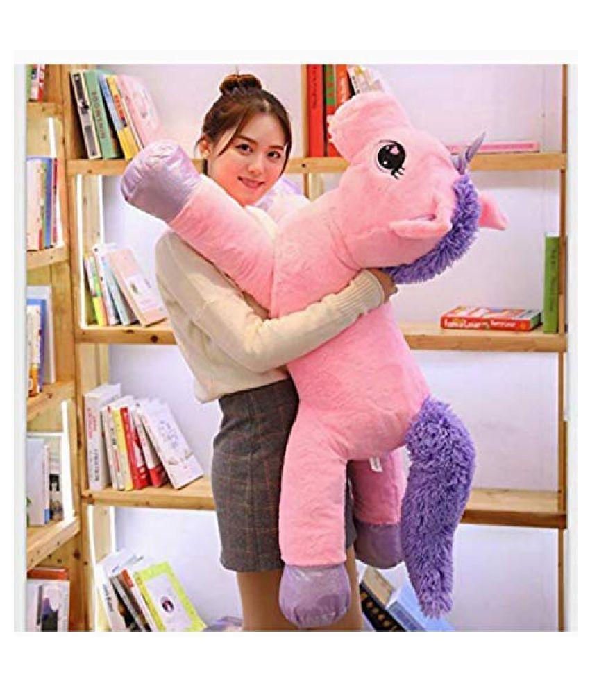 Daa Best Unicorn Stuffed Animal Plush Toy,  Pink  Made in India