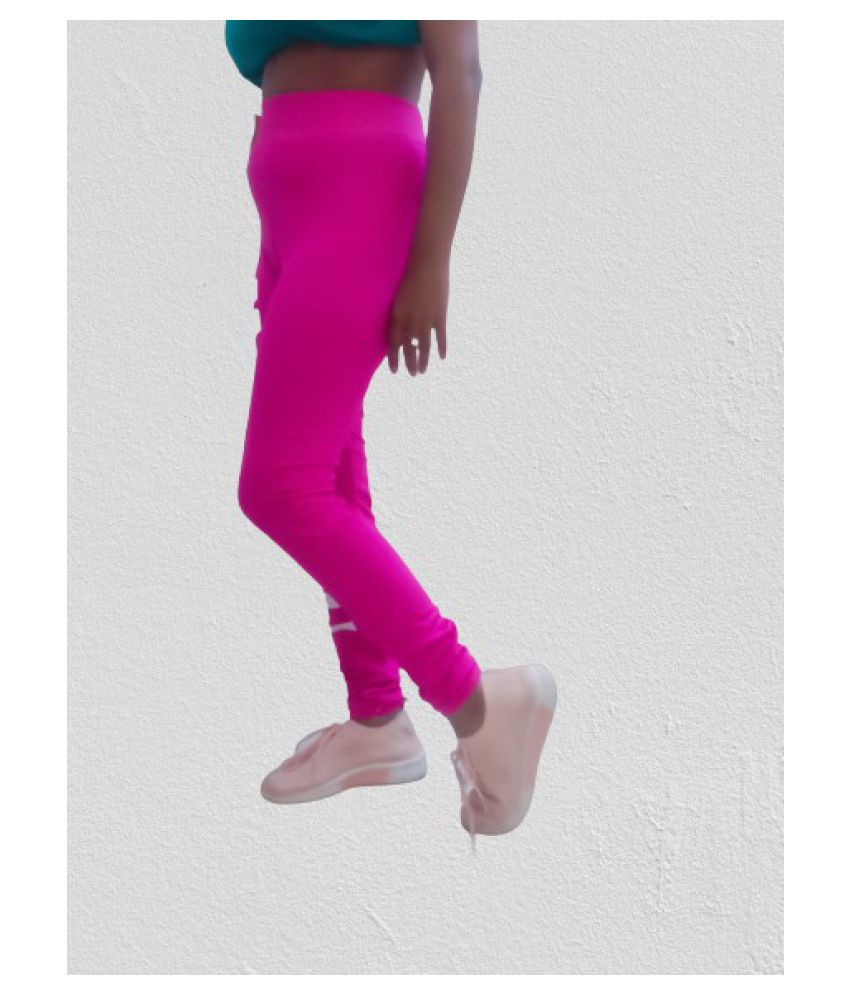 Sumit Enterprises Cotton Tights - Pink