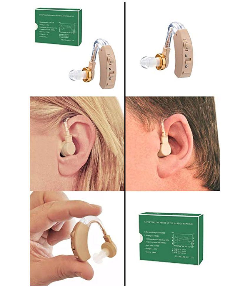 SG Axon F-136 Sound SOUND Enhancement Amplifier Adjustable Volume Adjustable AID Behind The Ear Hearing Aid