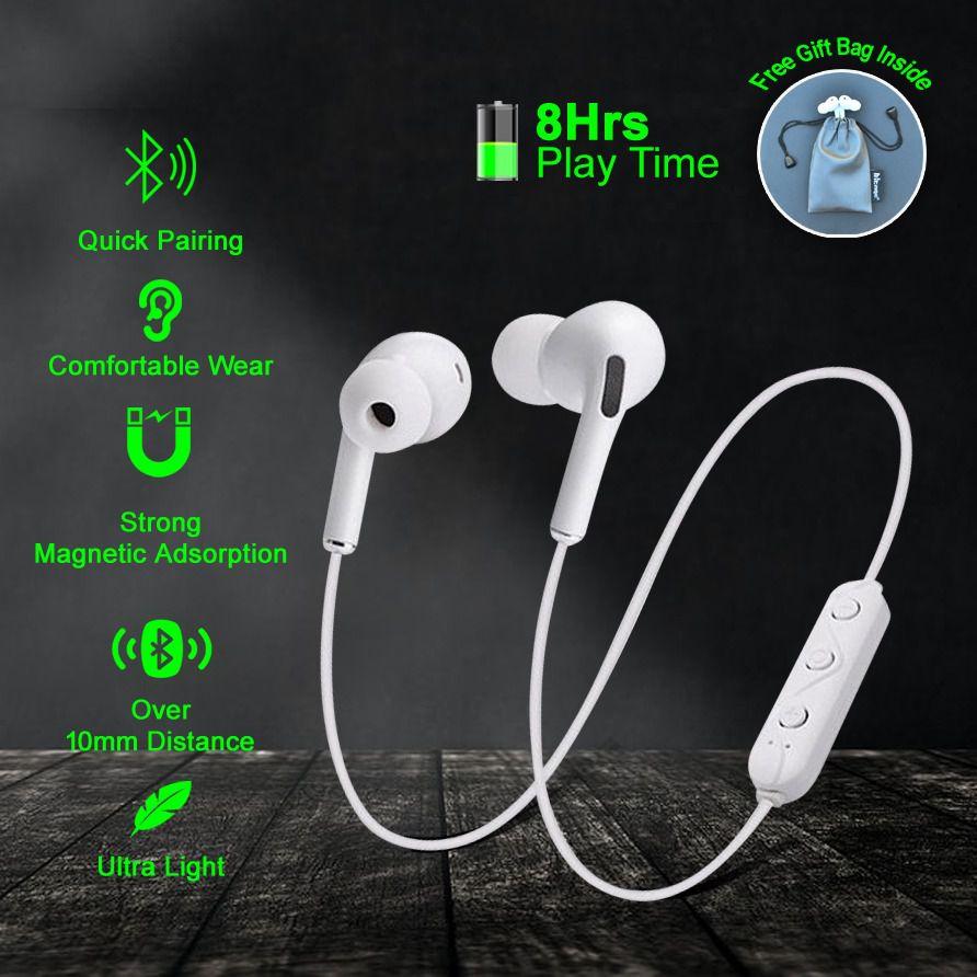 HITAGE MBT 154 U Bluetooth Headset with Mic  EO BG920BBEGIN  EXTREME Heaphones Accessories