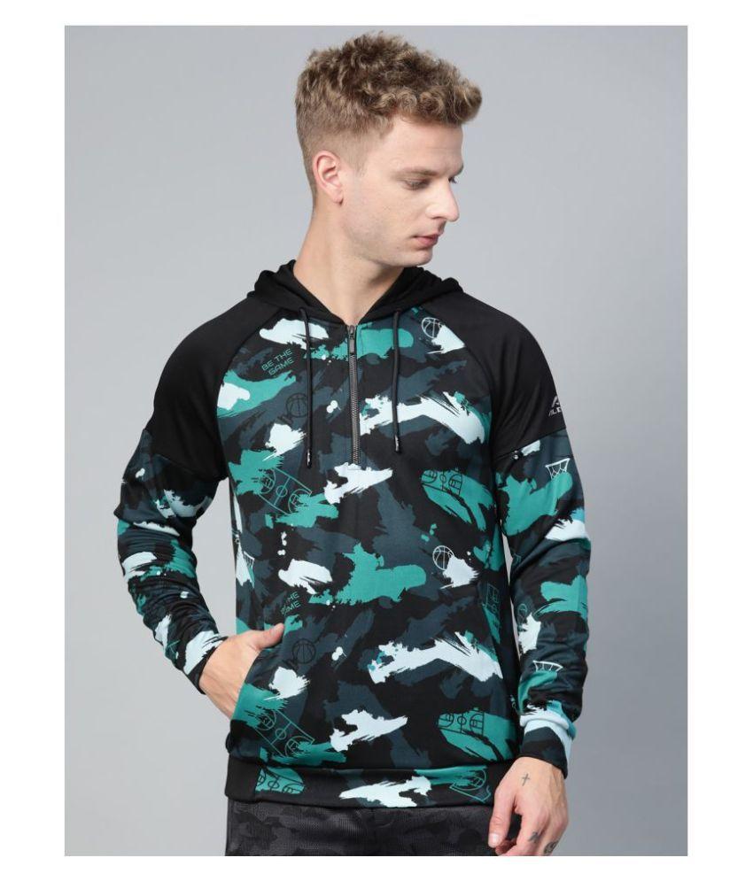 Alcis Blue Polyester Sweatshirt Single Pack