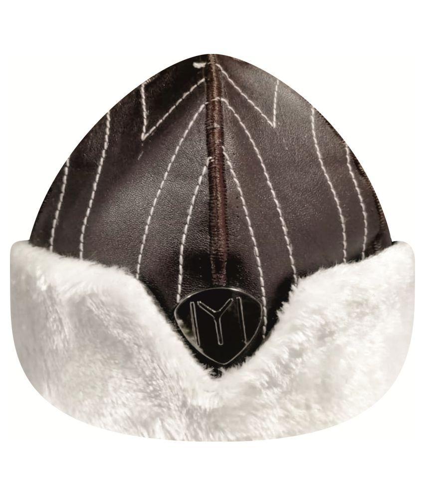 Ertugrul Ghazi Cap Brown Fabric