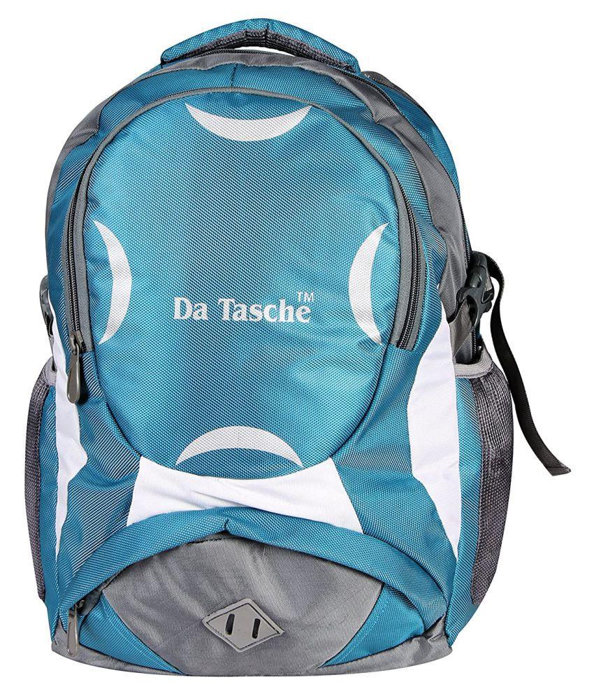 Da Tasche Grey-Green 35 Ltrs Backpack
