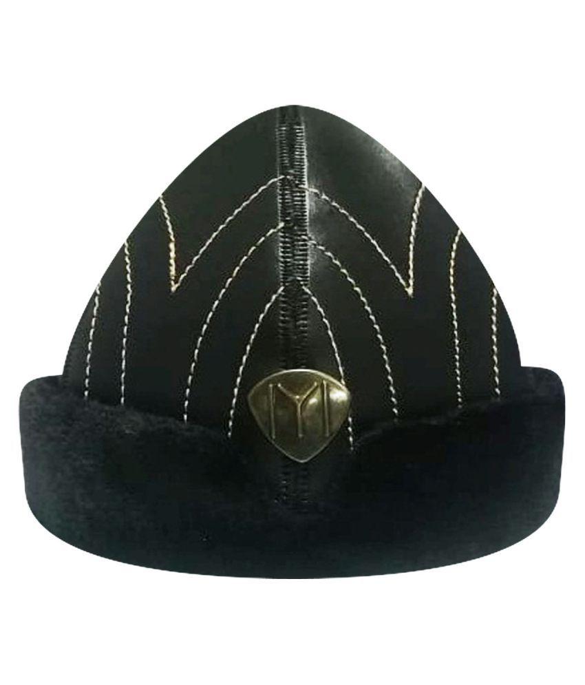 Ertugrul Ghazi Cap Black Fabric