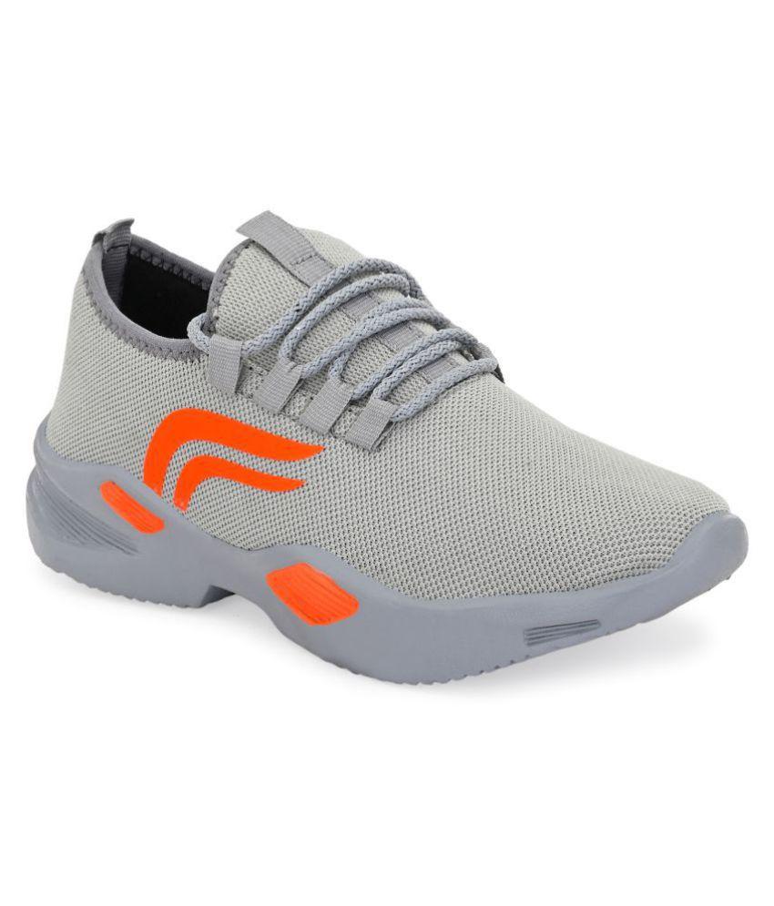 Fentacia Gray Running Shoes