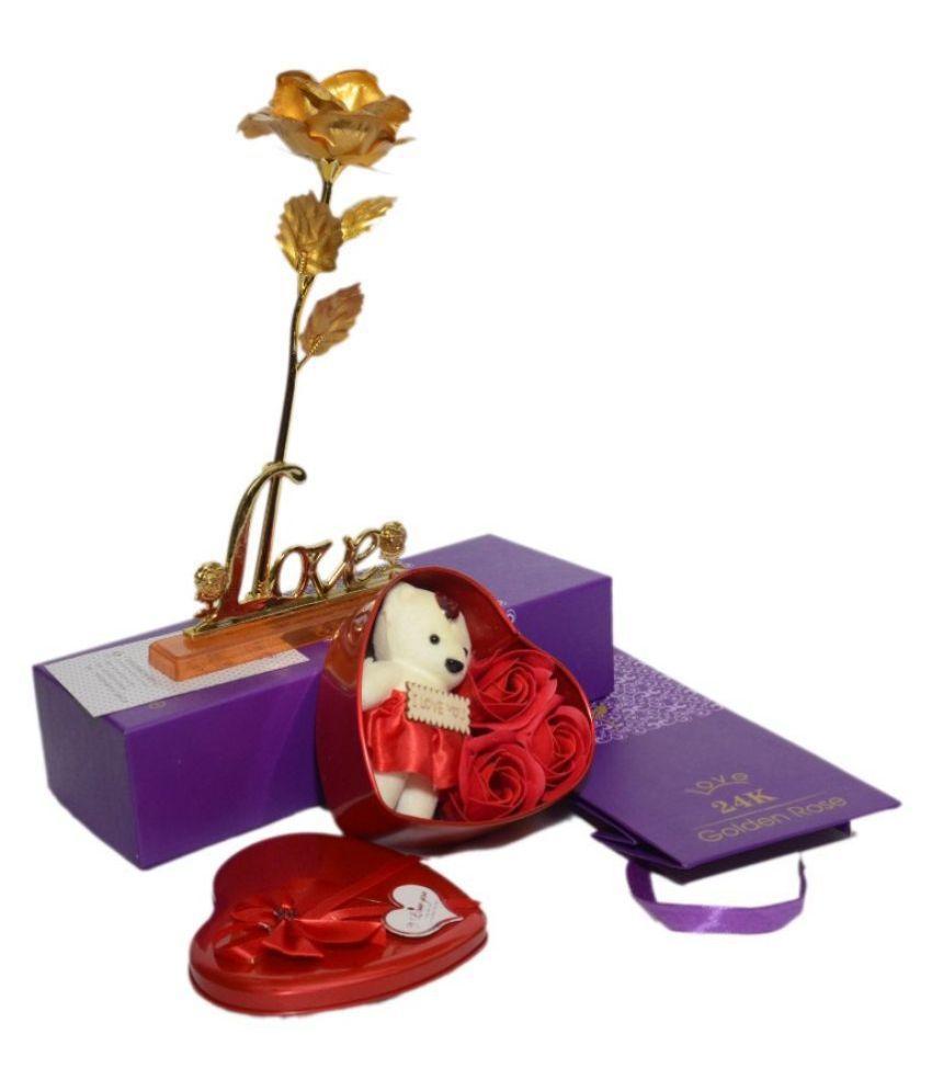 ND Brass Valentine Hamper Red - Pack of 2