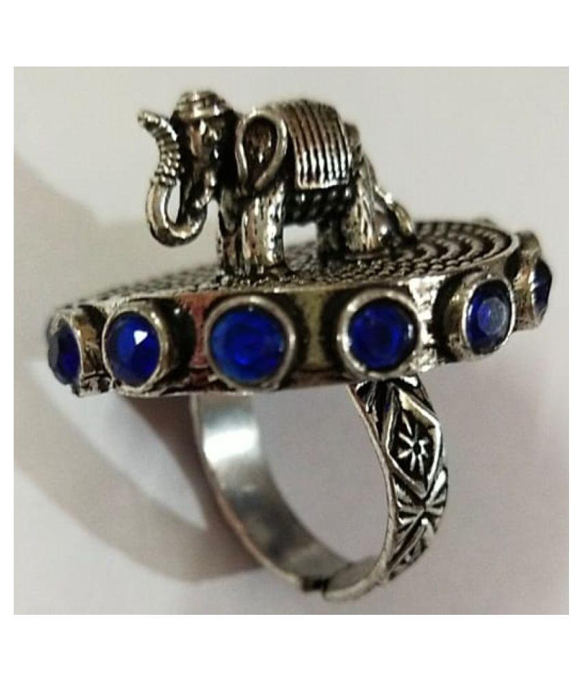 OXIDIZED ELEPHANT RING