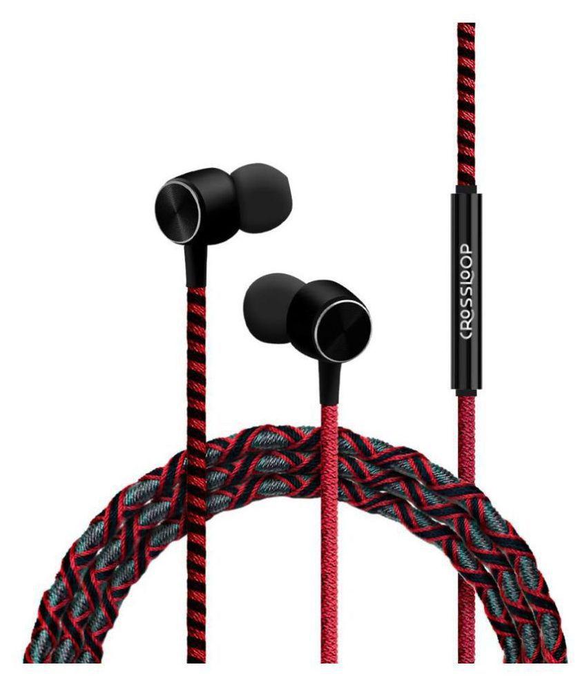 CROSSLOOP Pro Series In Ear Wired With Mic Headphones/Earphones