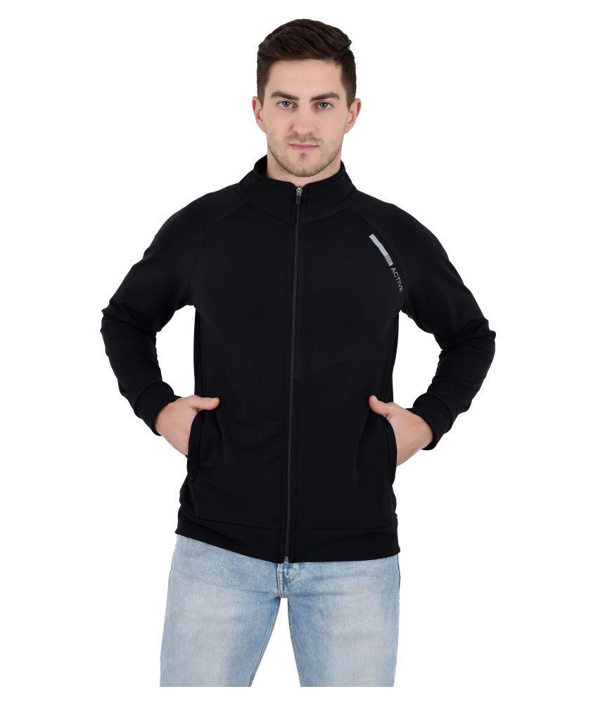 TheBonte Black Polyester Jacket