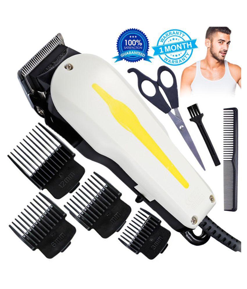 GTR Men Professional Hair Clipper Electric Corded Trimmer Hair Shaving MACHINE Casual Gift Set