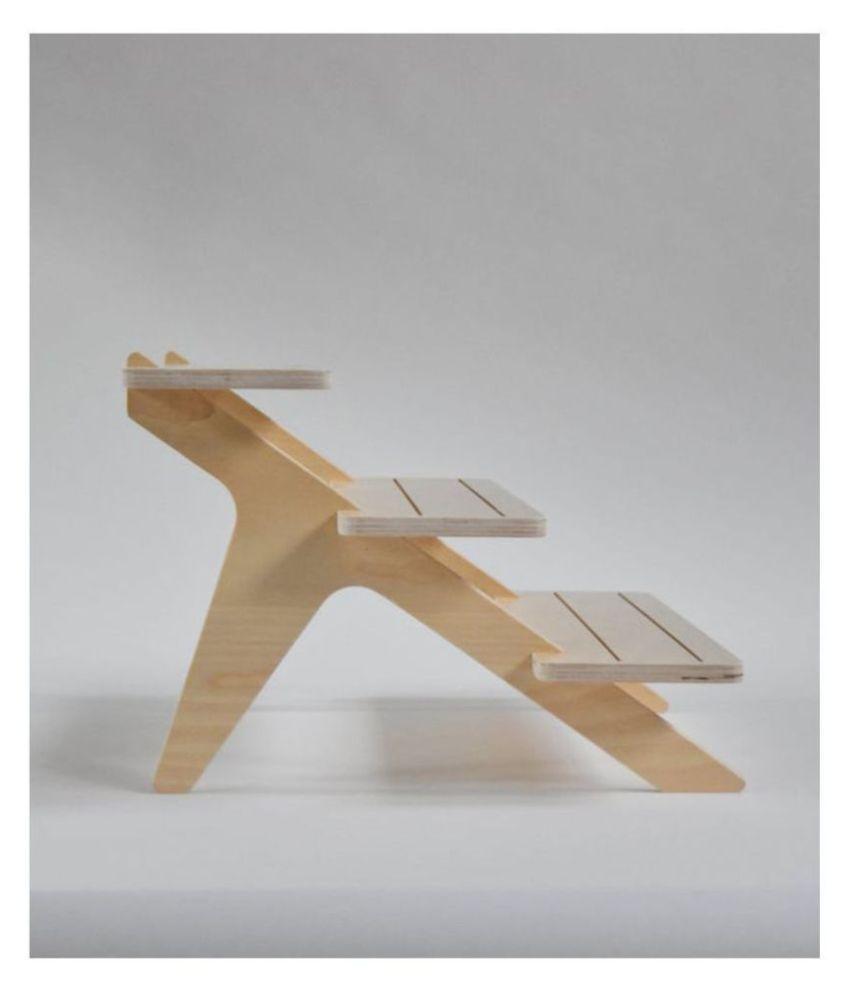 AmericanElm 3 Tiered Wooden Racks and Shelves  display stand/ pottery shelf/ Product Display Racks