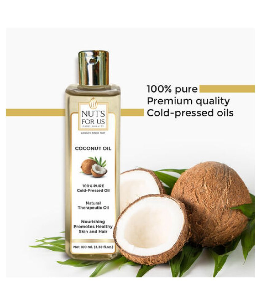 NUTS FOR US COCONUT OIL 200 mL