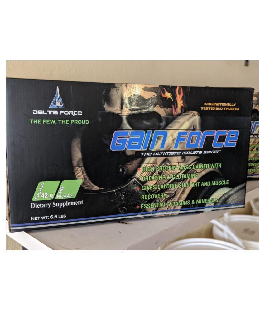delta force MASS GAINER 3 kg Mass Gainer Powder