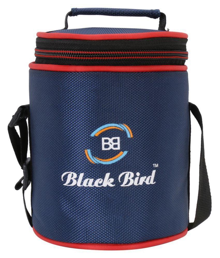 Blackbird Red Fabric Lunch Box