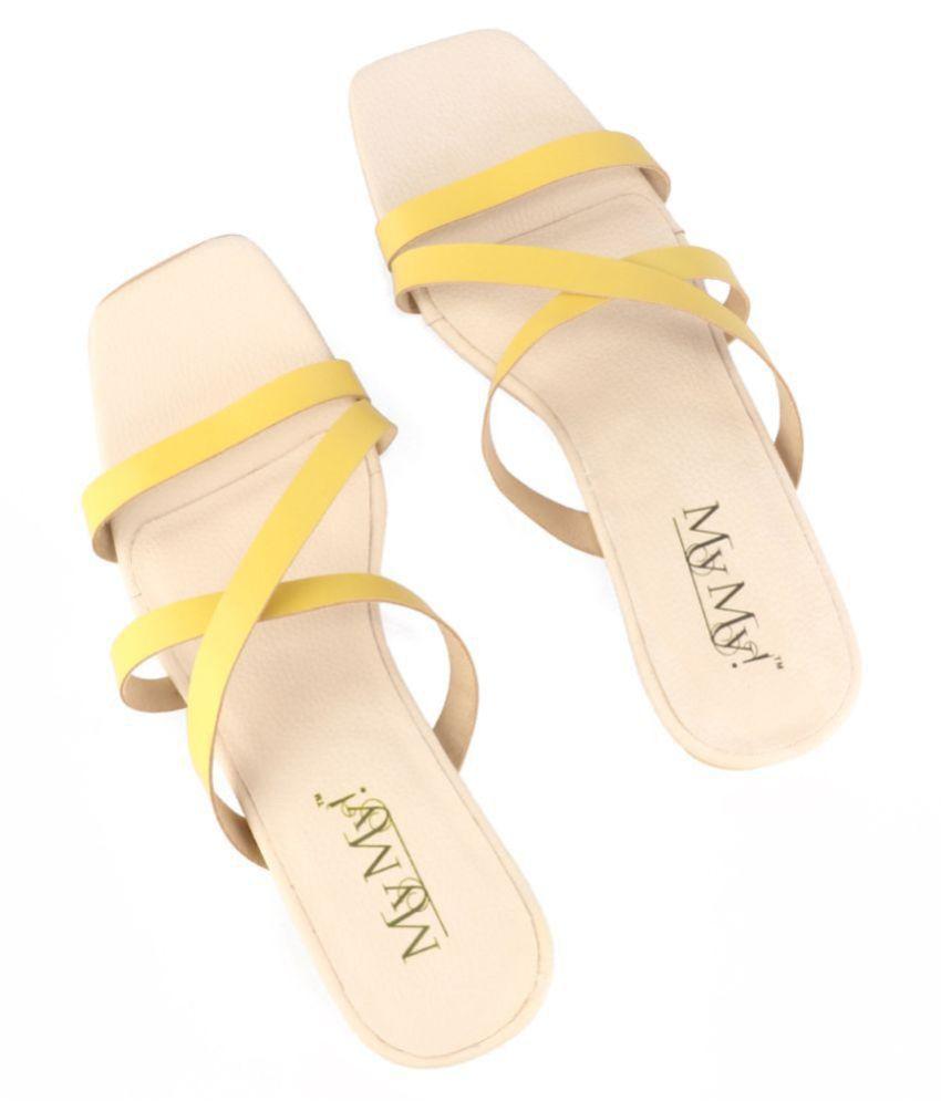 MY MY! Yellow Flats