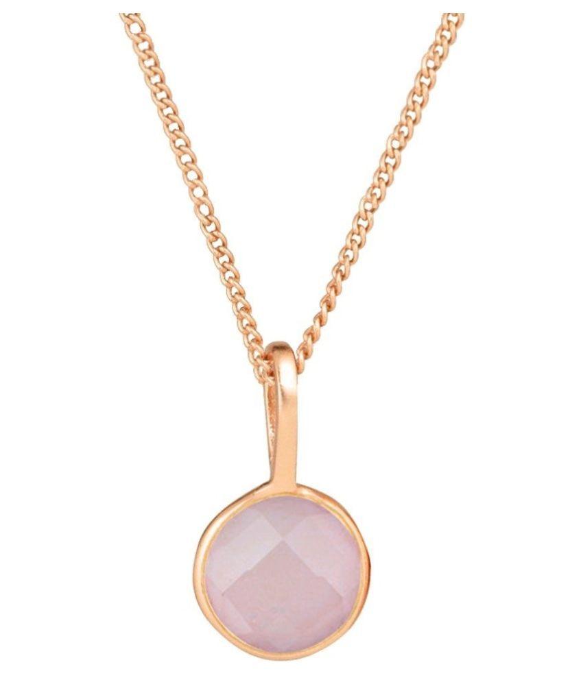 Natural Lab Certified 5.5 carat 100% Original Rose quartz Pendant for unisex by Kundli Gems\n