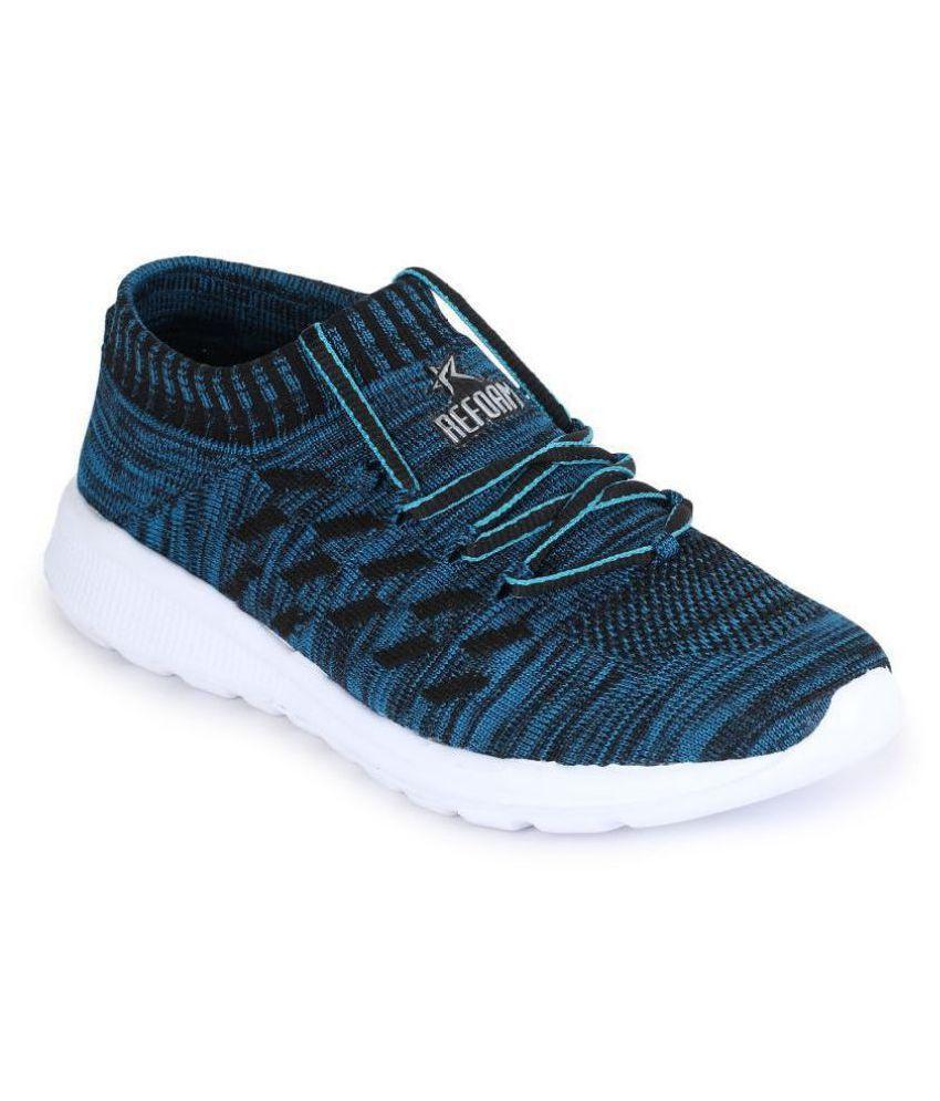 REFOAM Men's Blue Running Shoes