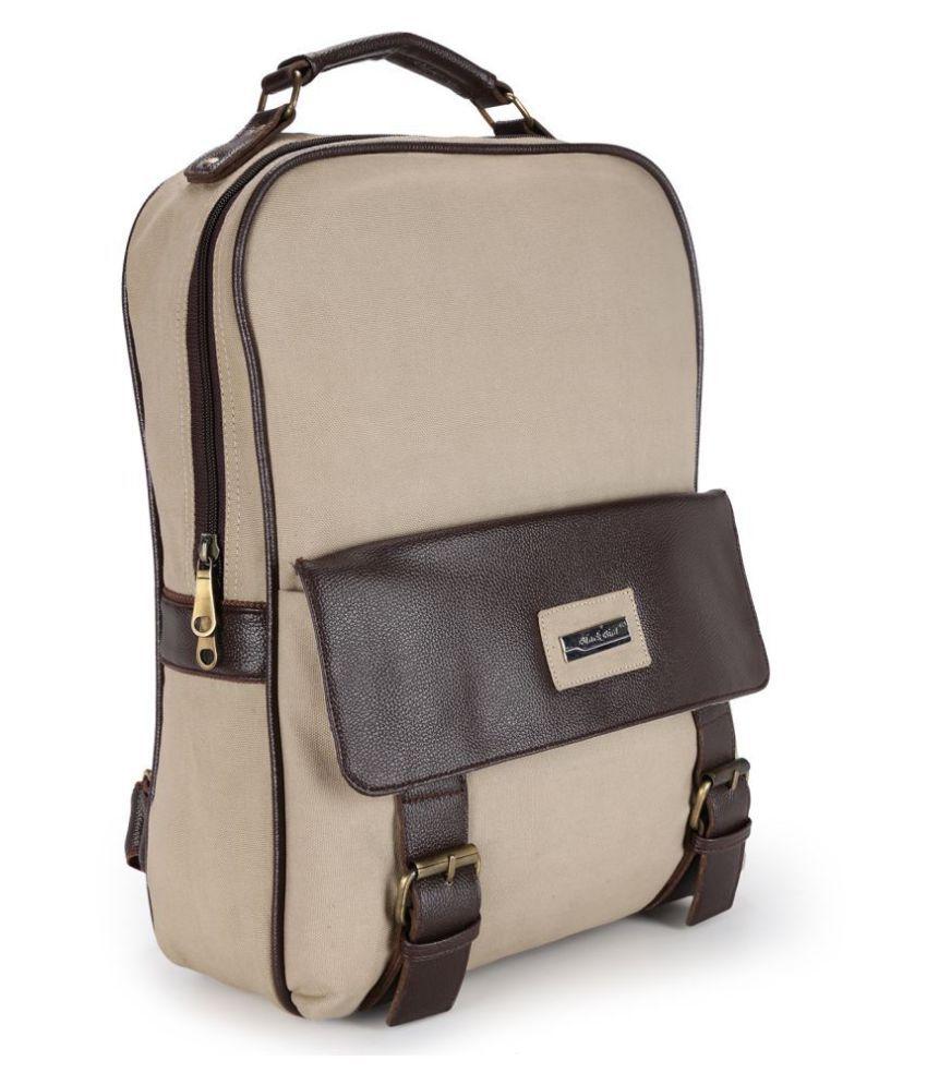 Blackbird Cream Backpack