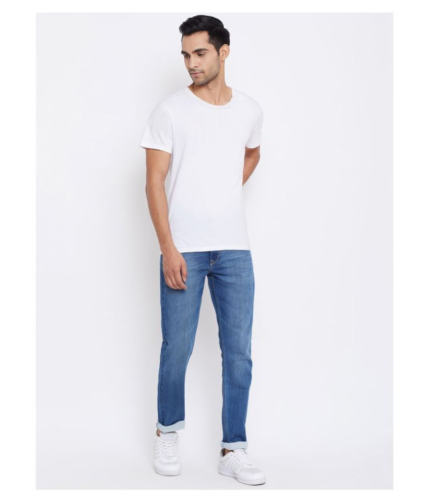 C9 Airwear Light Blue Regular Fit Jeans