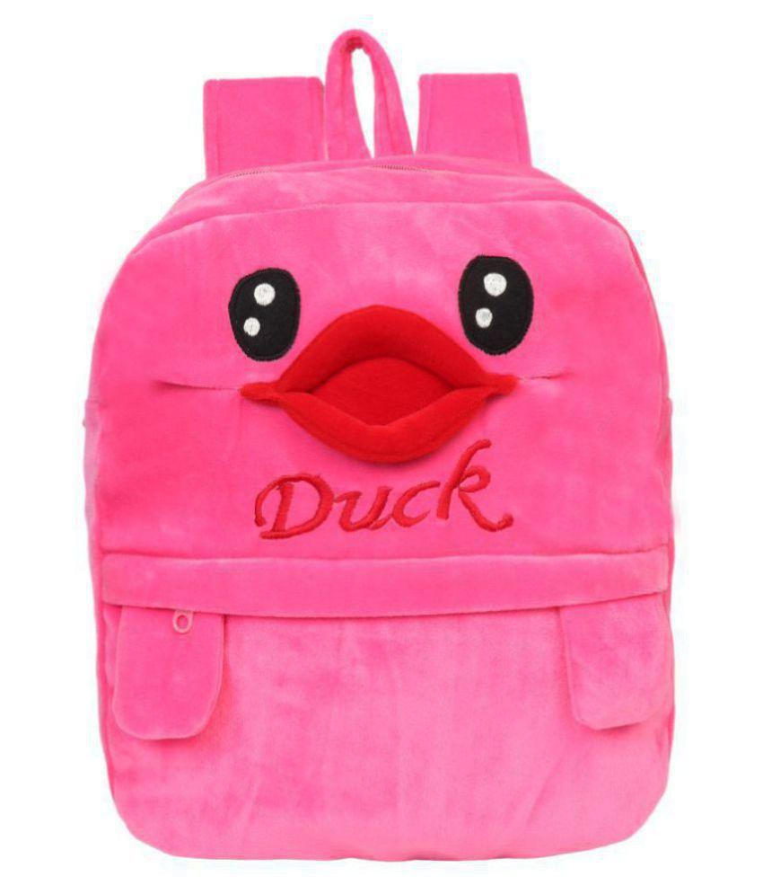 Lychee Bags Pink Backpack