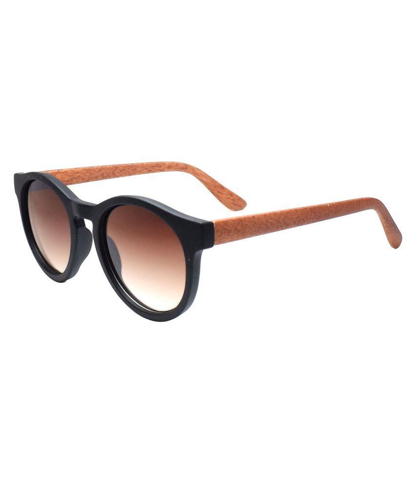 Peter Jones - Brown Round Sunglasses ( 2610BW )