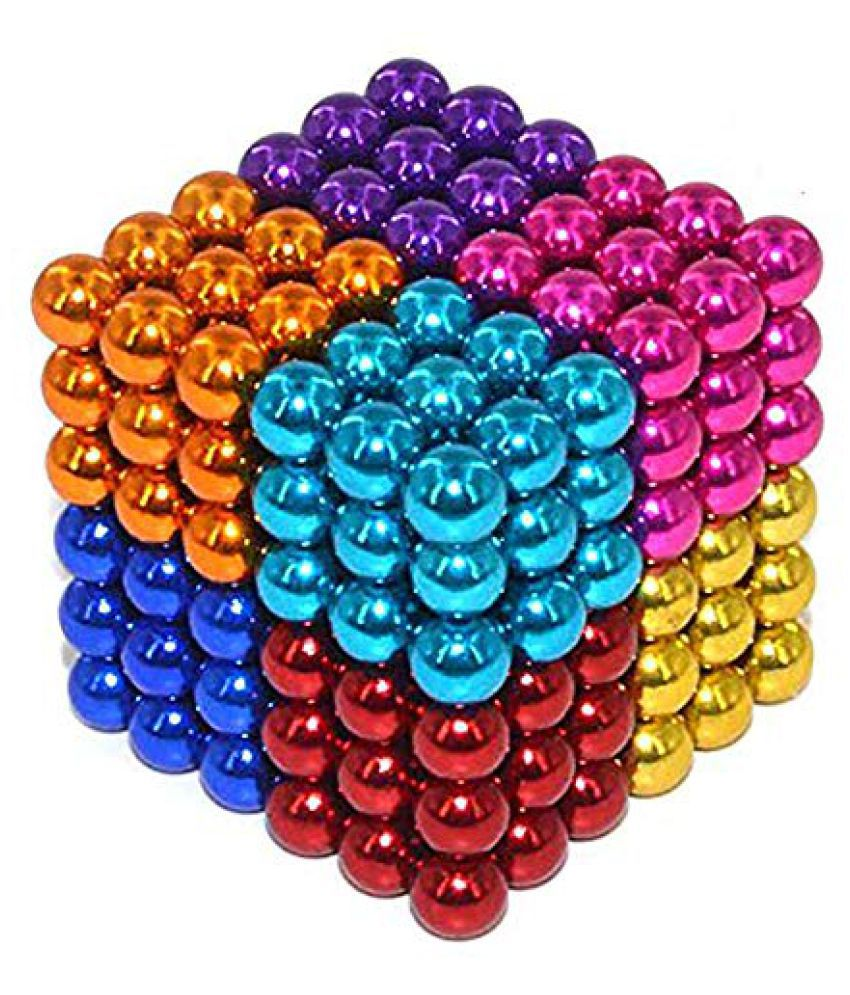 DIY 216 Multi-Colored Balls for Home,Office Decoration & Stress Relief etc (8 Colors Guaranteed))