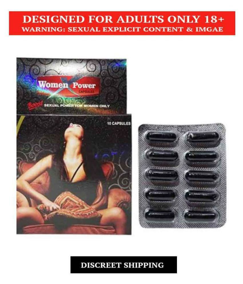 WomenX Power capsules  Pack Of 10 x 5 = 50no.s ( For Women Satisfaction)