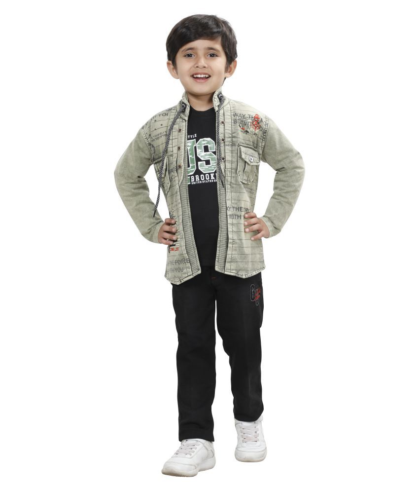 DKG Fashion Top and Bottom Set for Kids