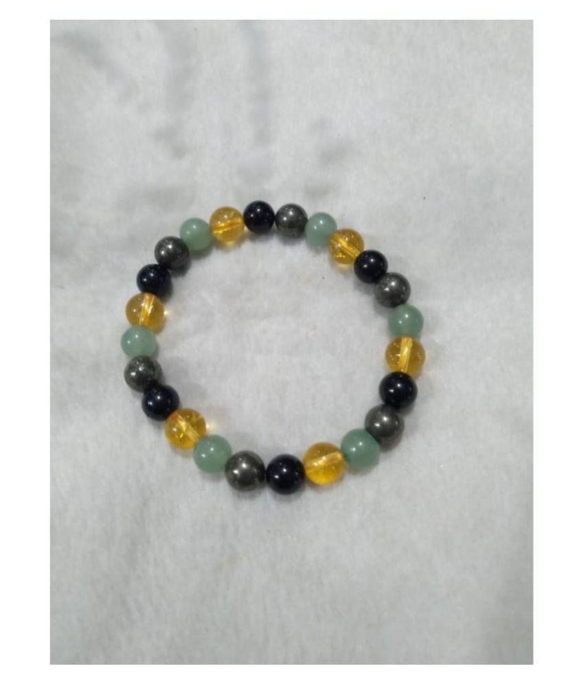 8mm Multi Color Natural Agate Stone Bracelet