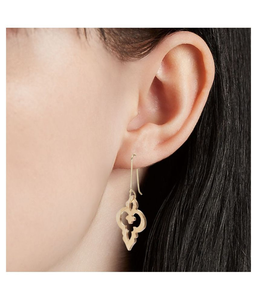 GoldNera Ethnic Jewelry Hanging Earring Drop Earring for Girls Women Casual Wear