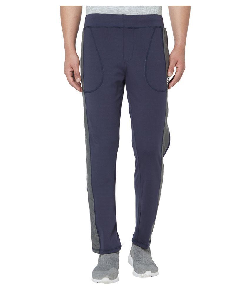ASITIS Men's  Dryfit Casual Lower Navy Size M