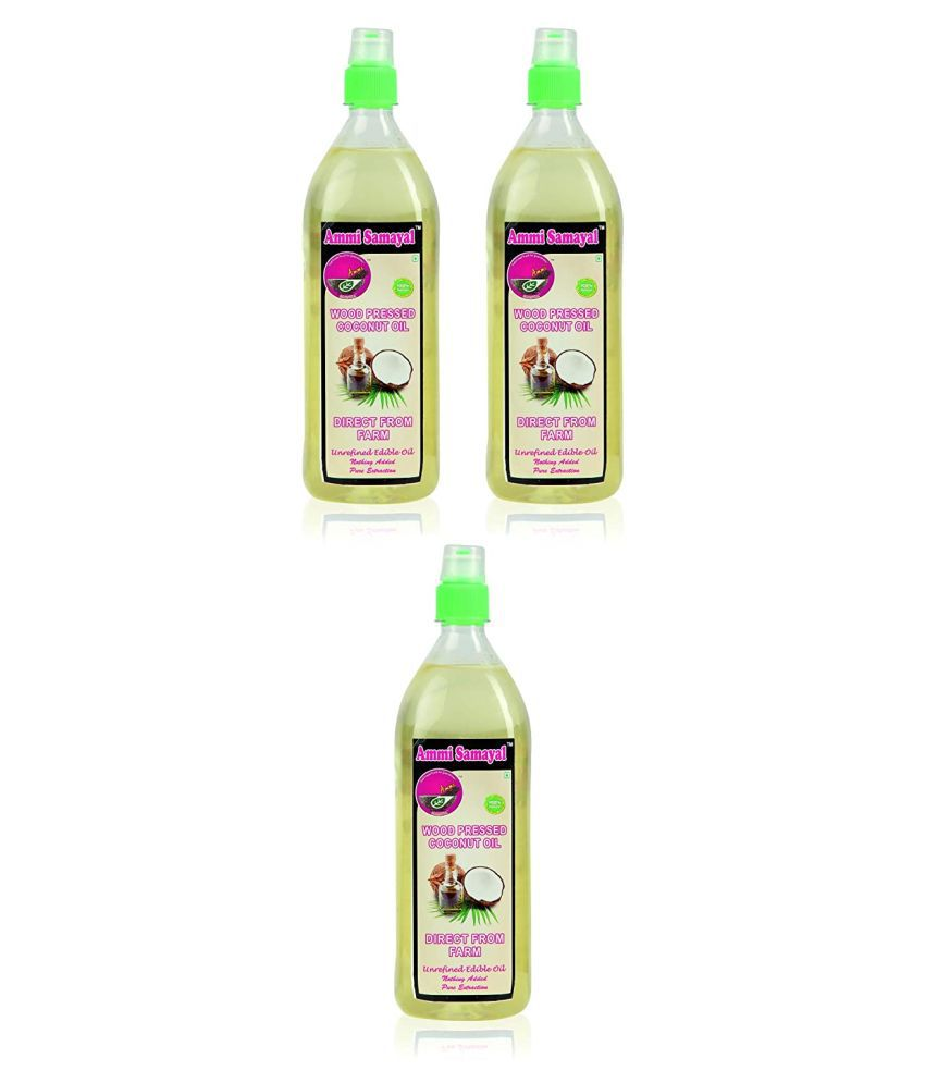 Ammi Samayal Coconut Oil 3204 g Pack of 3