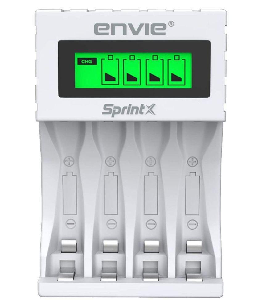 Envie Ultra Fast ECR 11 MC Camera Battery Charger
