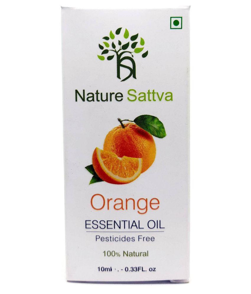 Nature Sattva Orange Natural Therapy Grade Essential Oil 10 mL