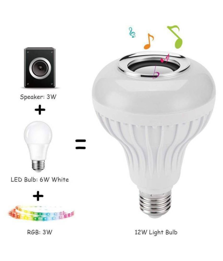 PRINCE GLOW LIGHTS 7W LED Bulb Natural White - Pack of 1
