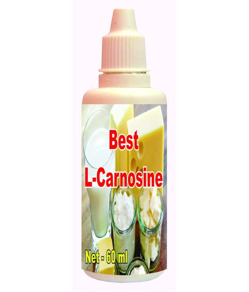 hawaiian herbal Best L- Carnosine Drops-60ml(Get 60ml Best L- Carnosine Drops Free) 60 ml Minerals Syrup