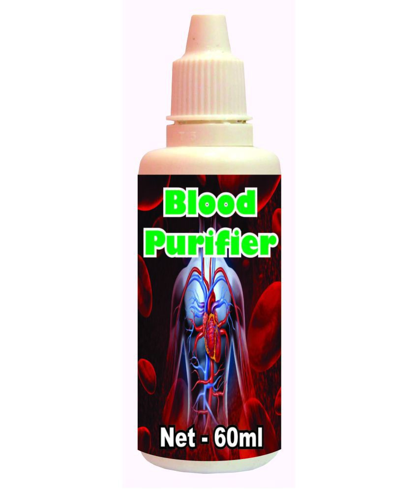 hawaiian herbal Blood Purifier Drops-60ml(Get 1 Bottle 60ml Blood Purifier Drops Free) 60 ml Minerals Syrup