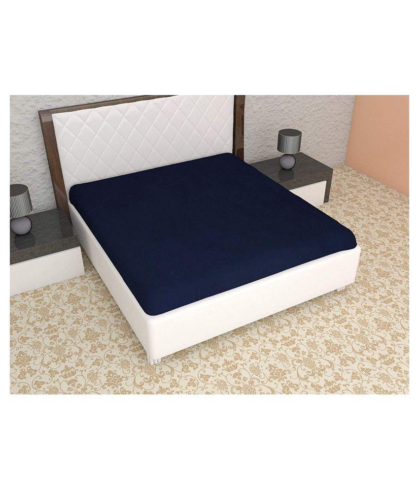 Fabfurn Blue PVC Mattress Protector