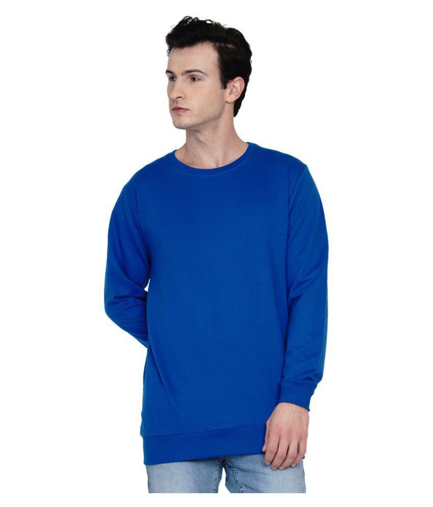 Knits and Weave Blue Sweatshirt