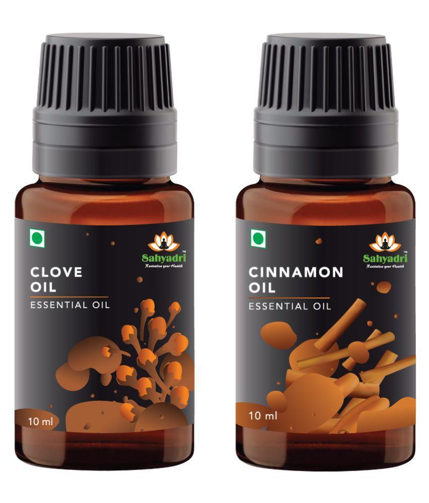 Sahyadri Cinnamon and Clove Essential Oil 20 mL