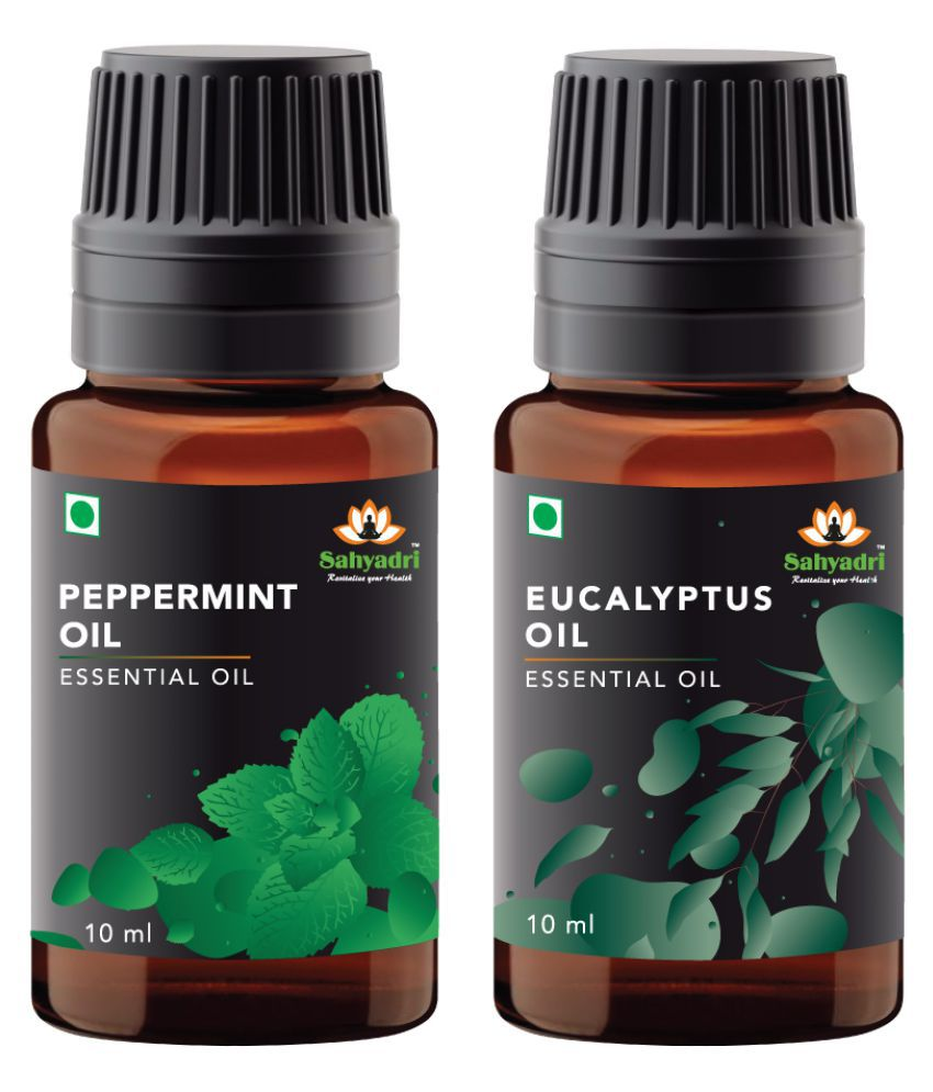 Sahyadri Eucalyptus and Peppermint Essential Oil 20 mL
