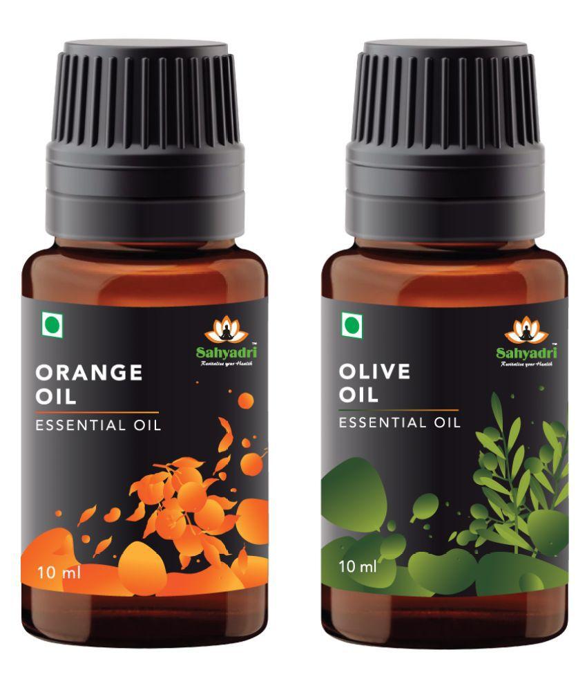 Sahyadri Orange and Olive Essential Oil 20 mL