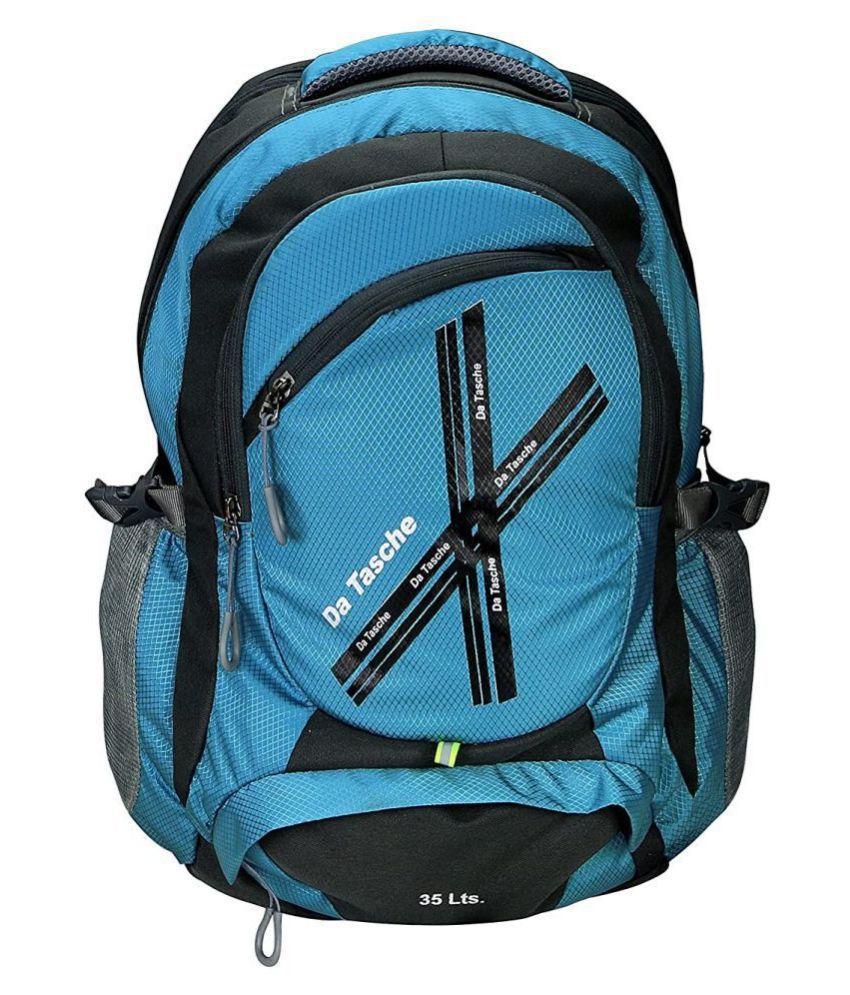 Da Tasche Blue-Grey Backpack
