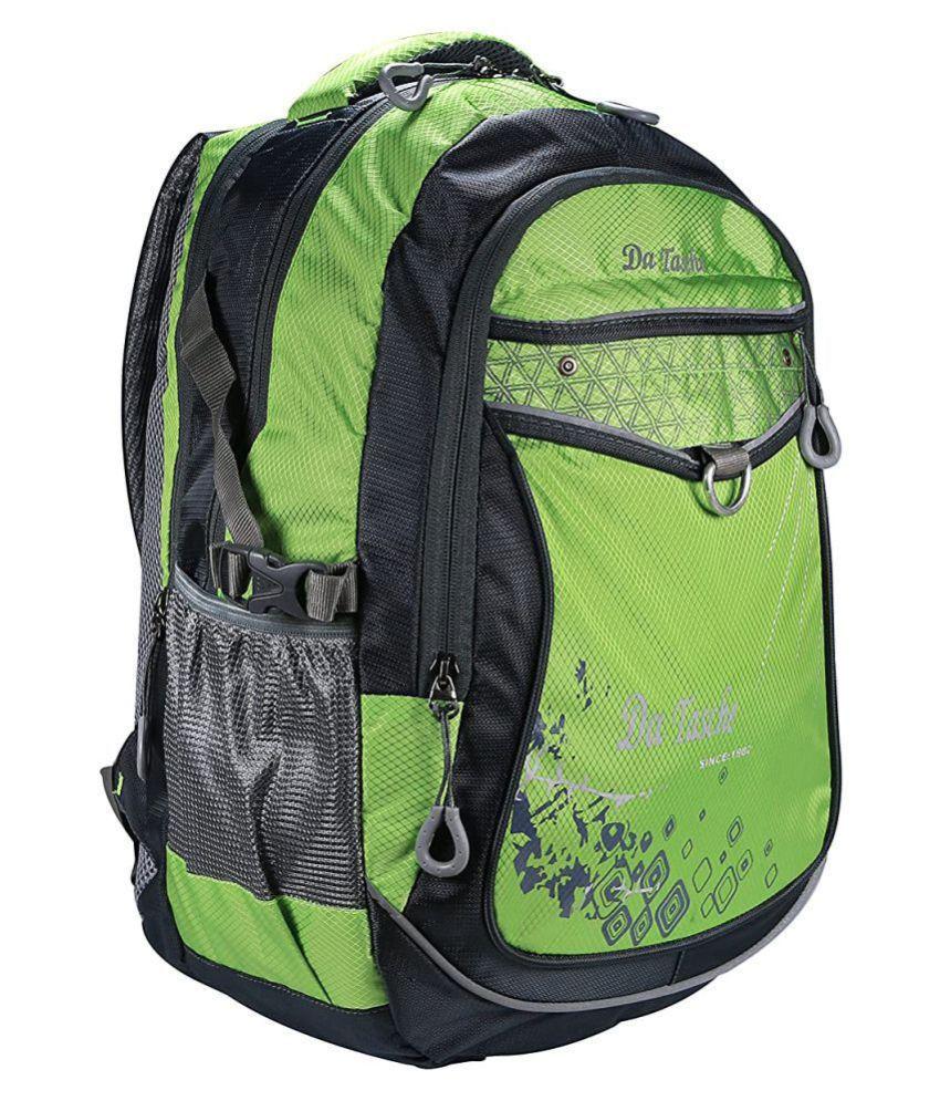Da Tasche Grey Polyester 35 Ltrs College Bag
