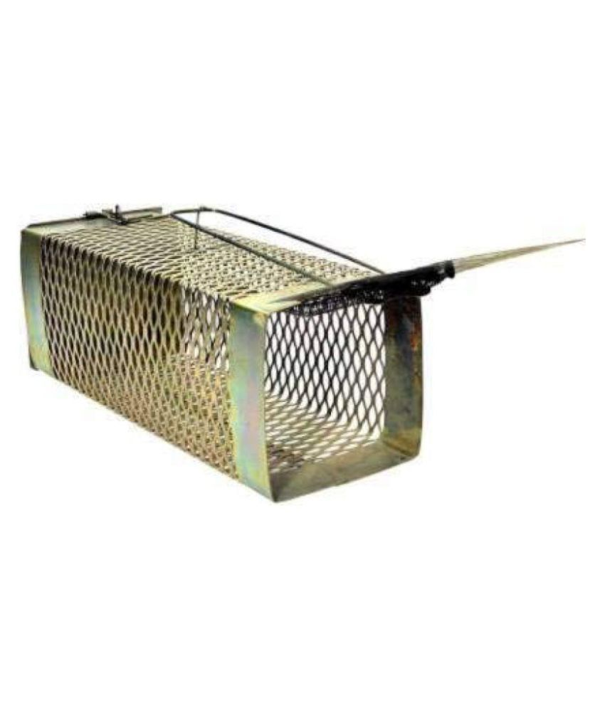 Greatindos®  Premium Quality  Metallic Mouse Trap for Capturing l Rat/ Mouse/ Rodents