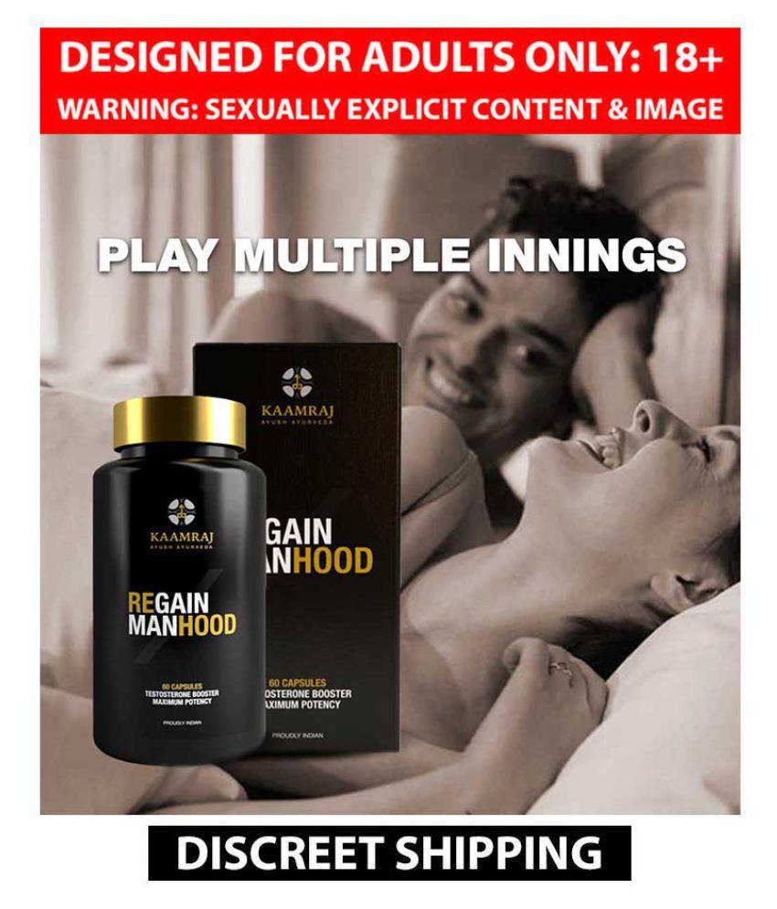 100% Safe Penis Enlargement And Sexual Stamina Capsules By Kaamraj - 60 Caps