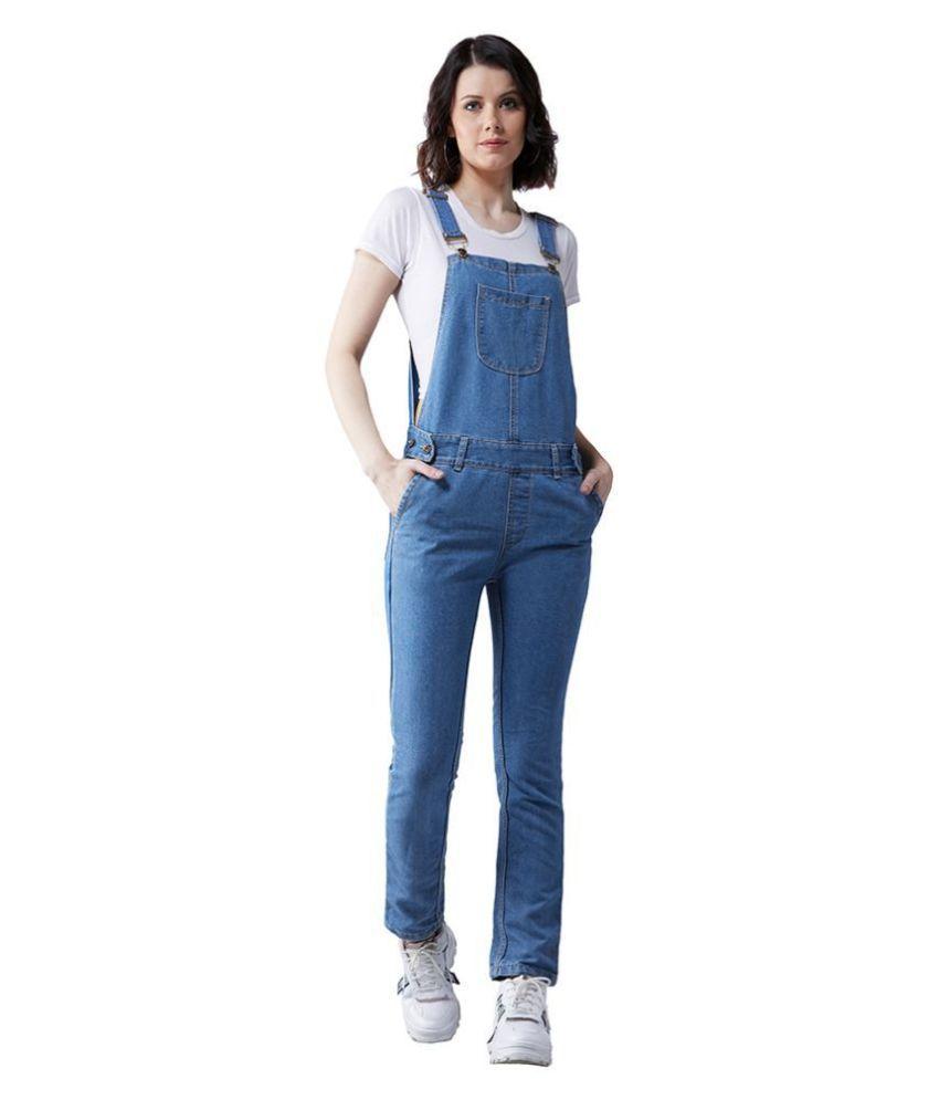 Dolce Crudo Denim Jeans Dungarees - Blue