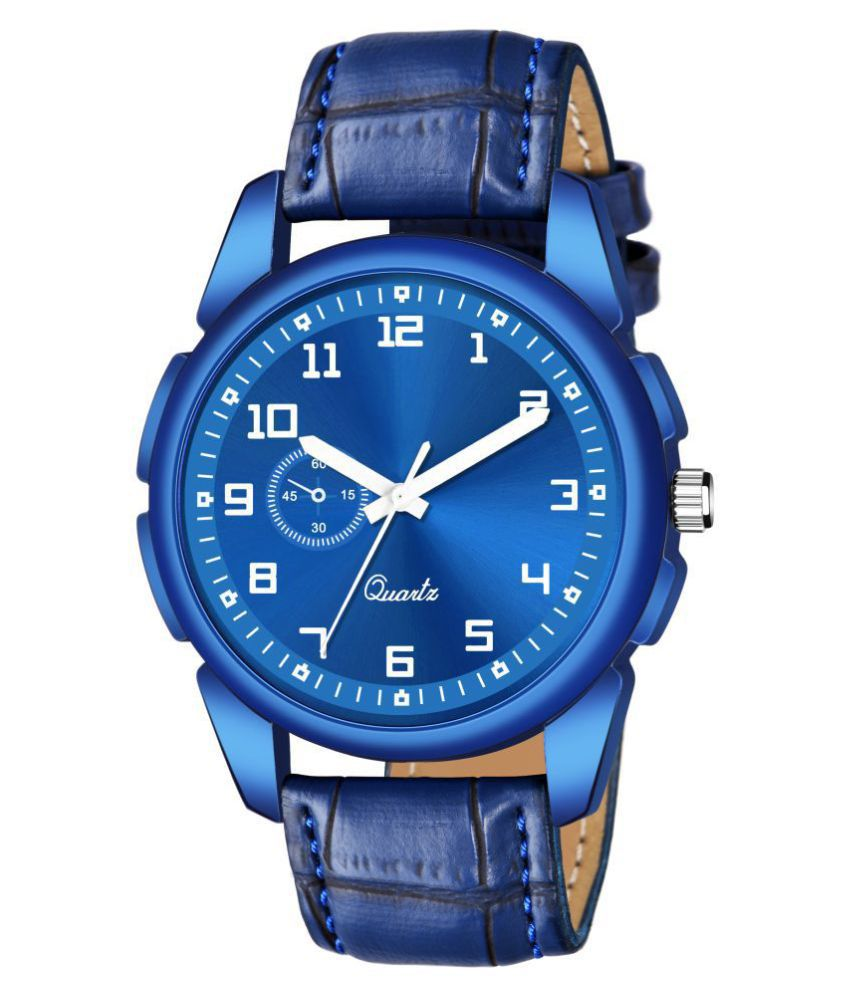 AMINO KJR_555 Leather Analog Men's Watch