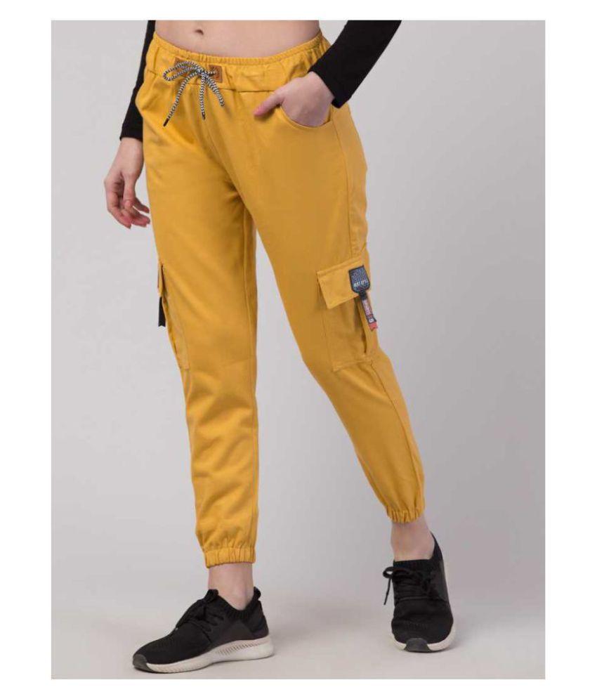 Lyublyu Cotton Lycra Jeans - Yellow
